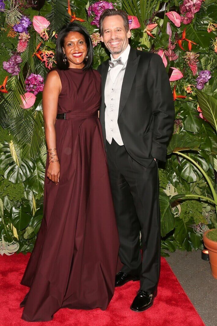 Gina Love and Steven Feldman - Town and Country magazine