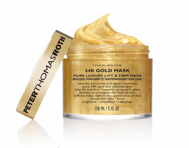PETER THOMAS ROTH'S 24 KARAT GOLD MASK